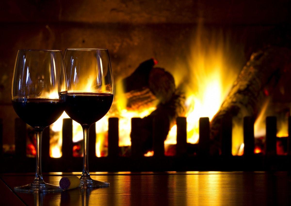 vinho no inverno
