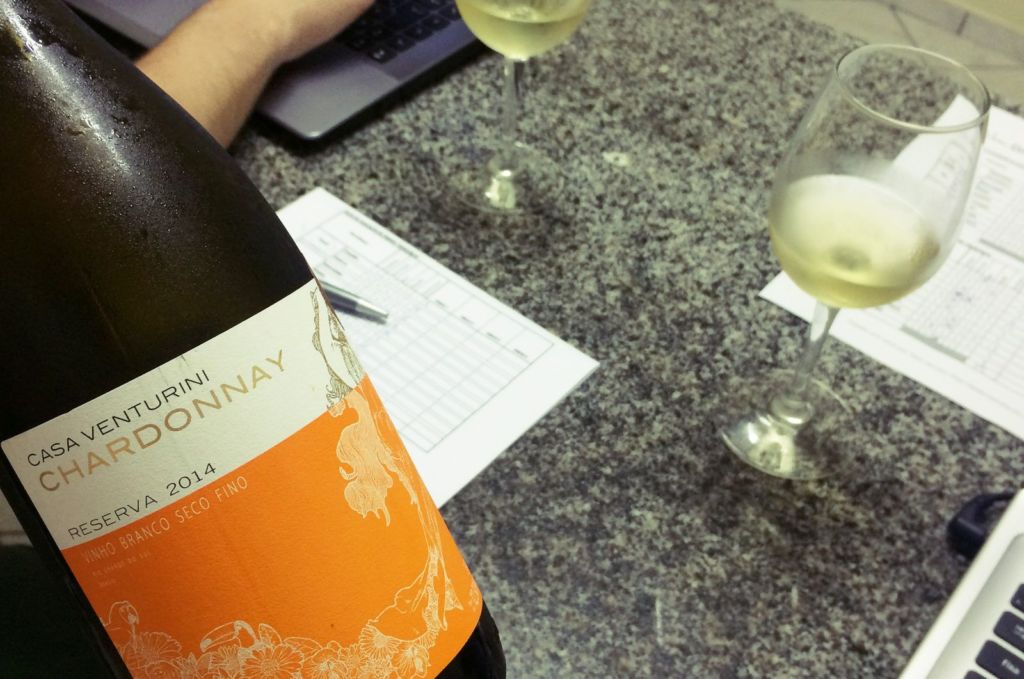Casa Venturini Chardonnay Reserva 2014