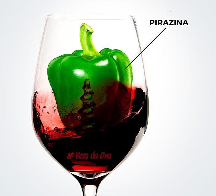 Pirazina no Cabernet Sauvignon